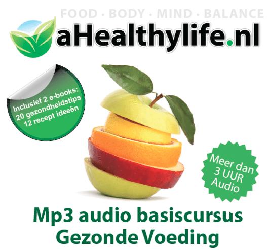 Audio basiscursus goede voeding op Mp3