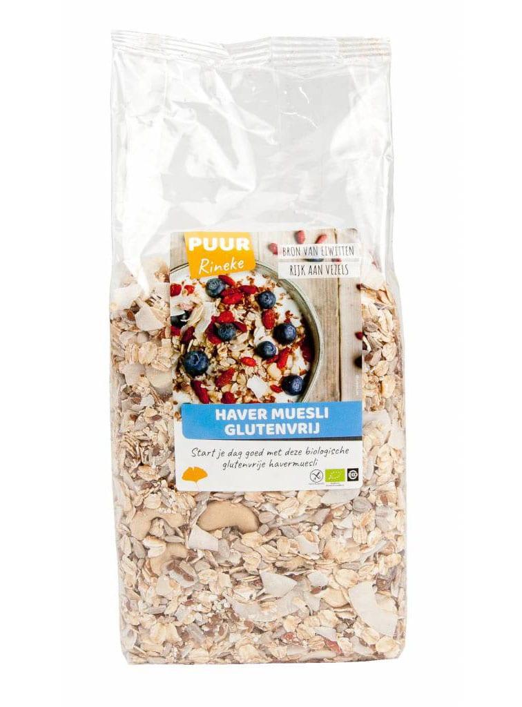 Havermuesli biologische ontbijtmix