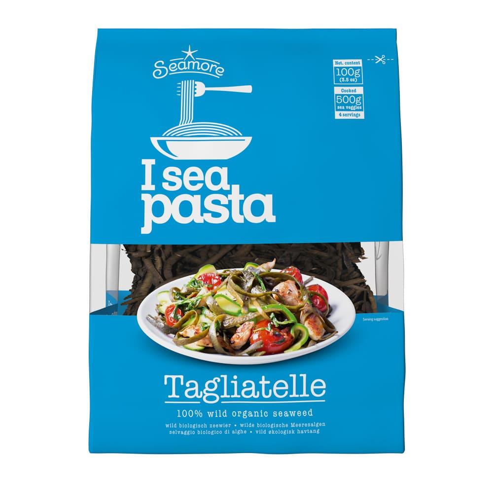 Biologische zeewier pasta
