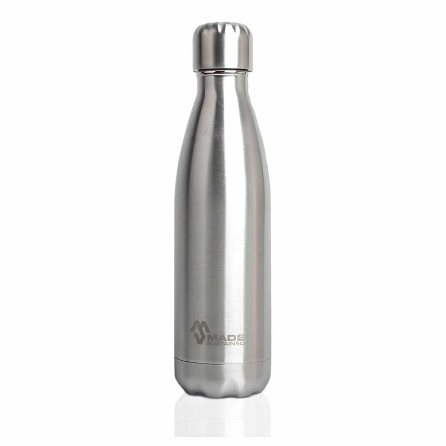 Made Sustained Knight bottle silver 750 ml