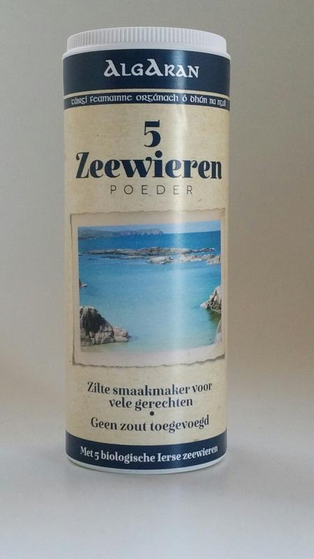 5 Zeewierenpoeder (40 Gr, Biologisch) – Algaran