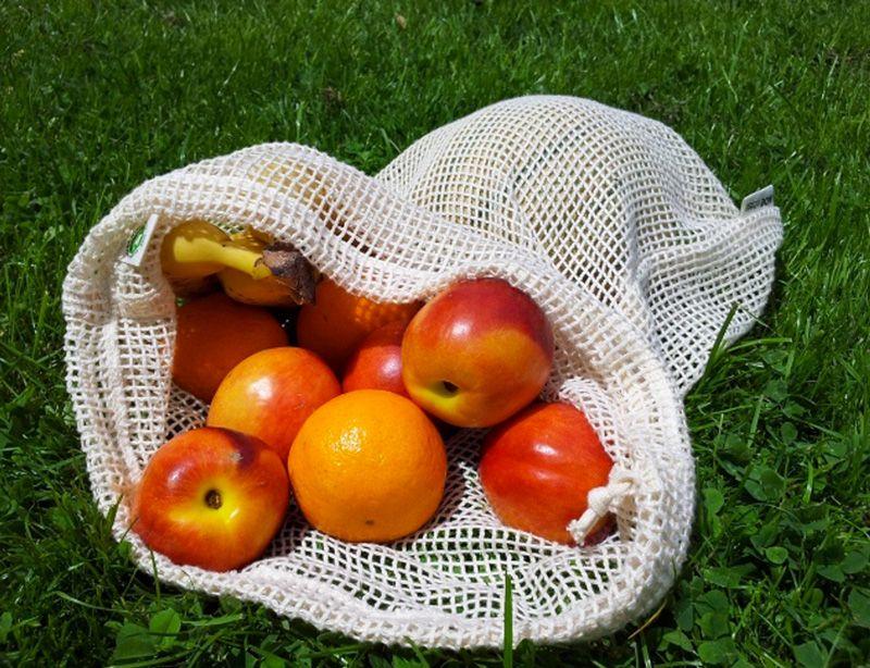Herbruikbare groente & fruit zakken Re-Sack