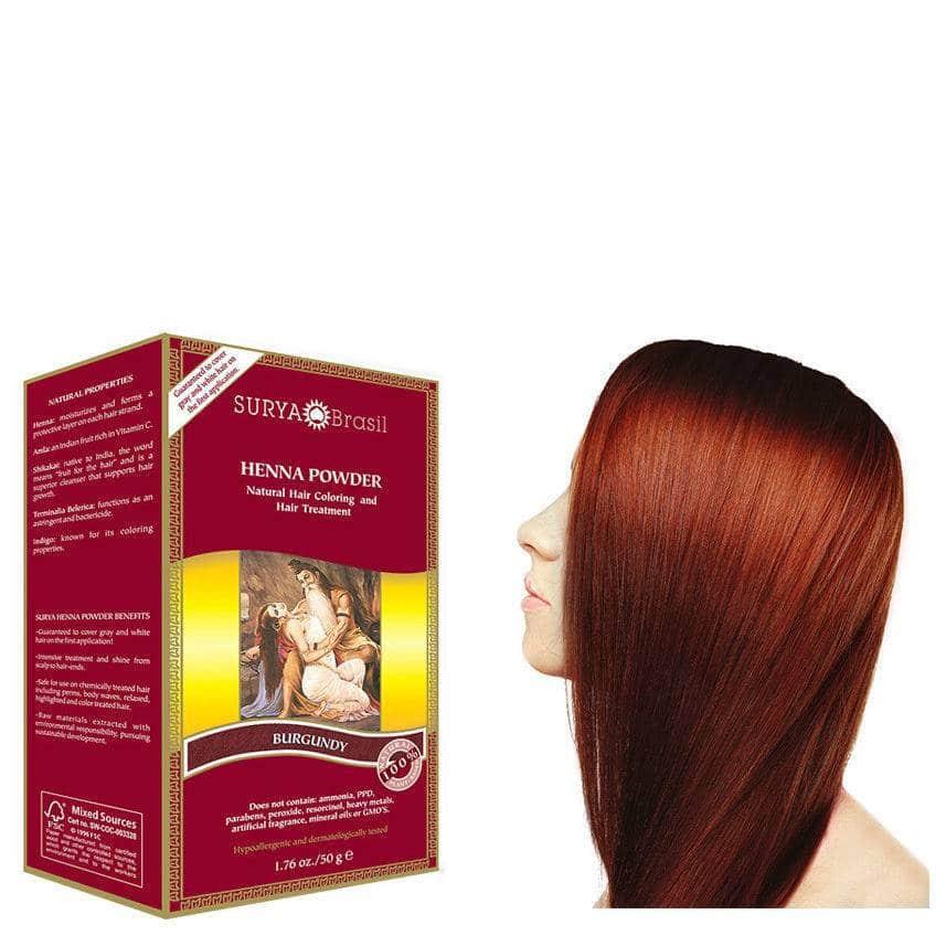 Haarverf – Burgundy – Surya Brasil Henna