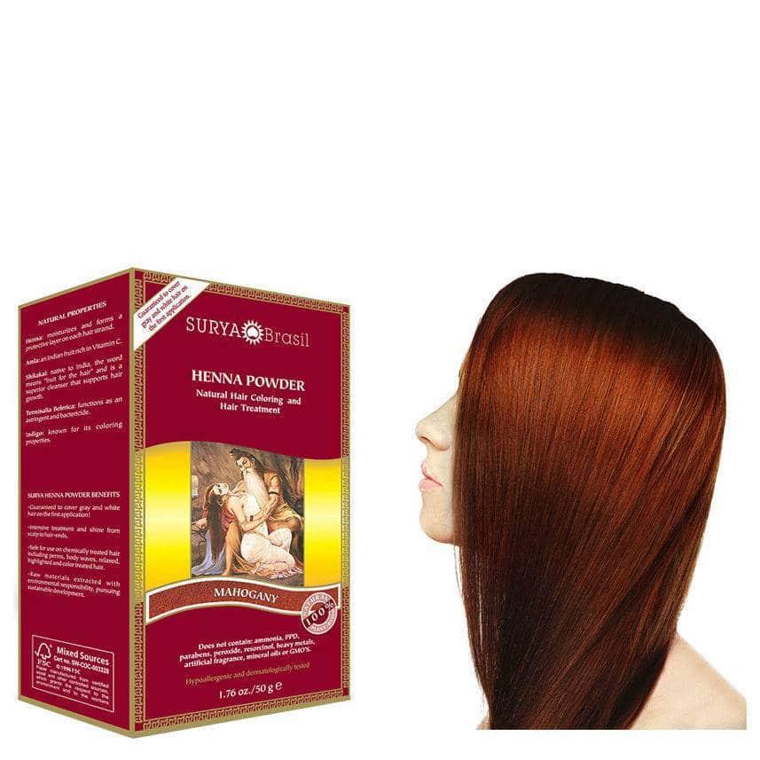 Haarverf – Powder Mahogany – Surya Brasil Henna