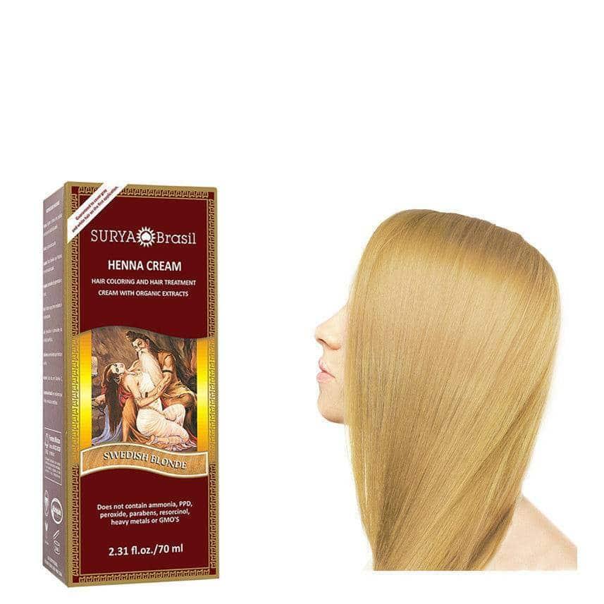 Haarverf – Swedish Blonde – Surya Brasil Henna