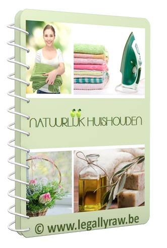 E-book Natuurlijk Huishouden vol tips
