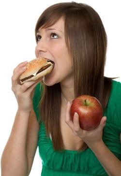 twijfelen over voeding