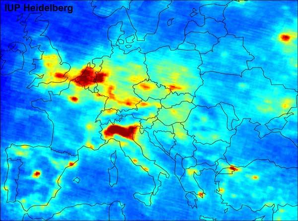 Bron: Universiteit van Heidelberg, Duitsland.