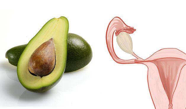 avocado baarmoeder