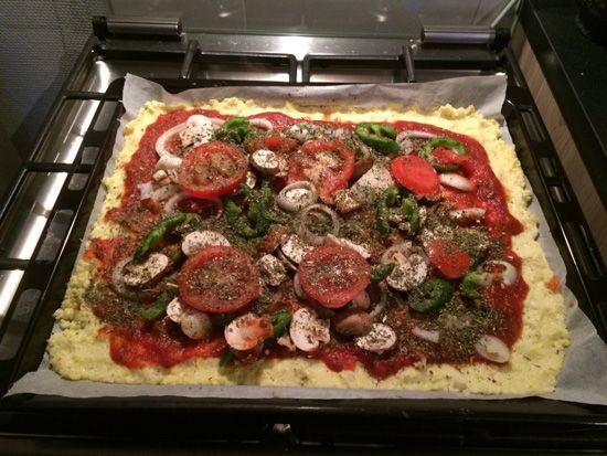 glutenvrije-bloemkool-pizza