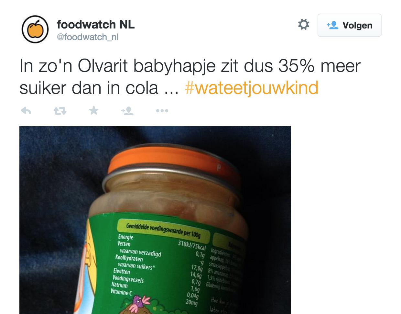Suiker In Babyvoeding Onschadelijk Voeding En Gezondheid