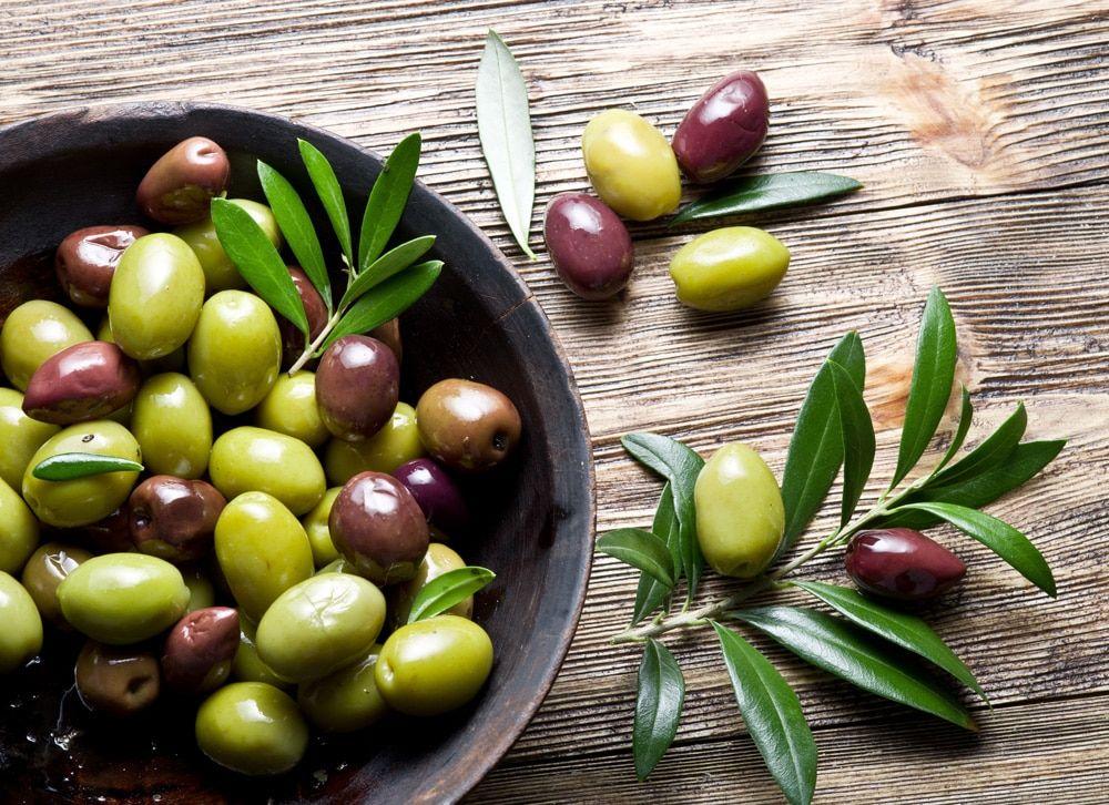olijven koolhydraten