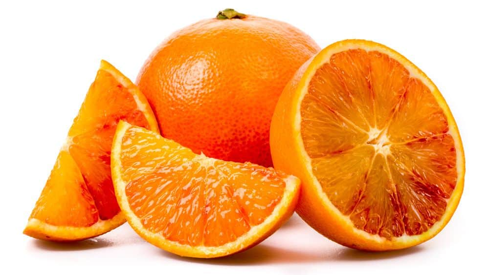 sinaasappel voedingswaarde