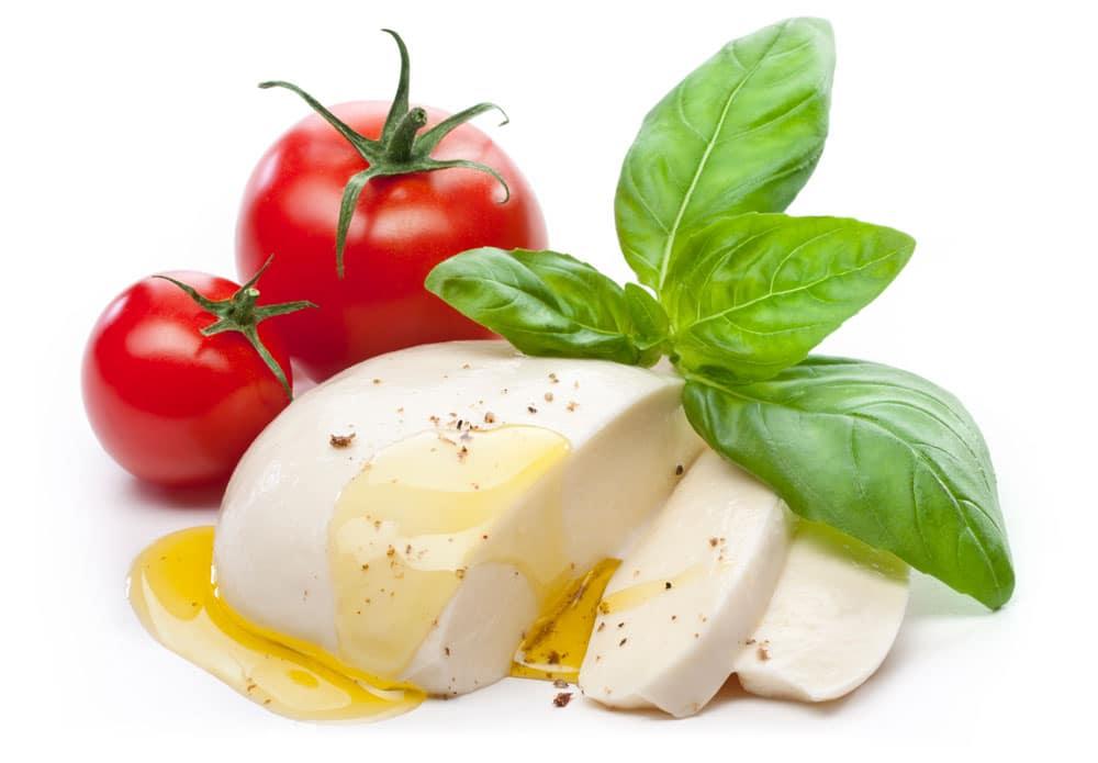 Voedingswaarde van mozzarella