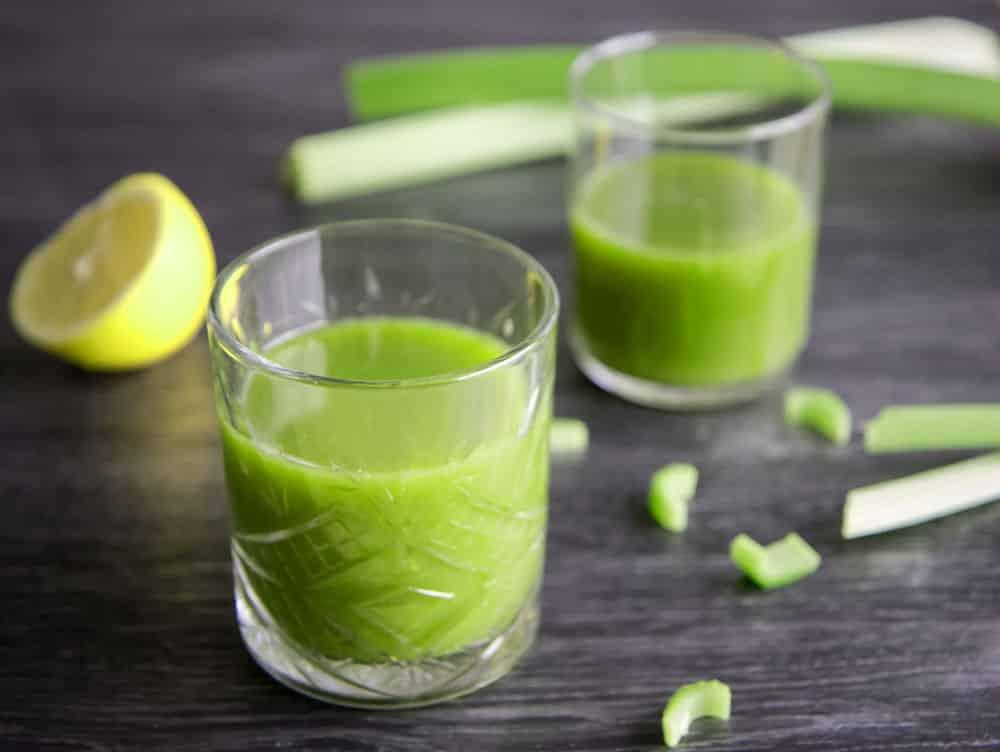 Recept - lekkere bleekselderij sap, ook wel celery juice genoemd