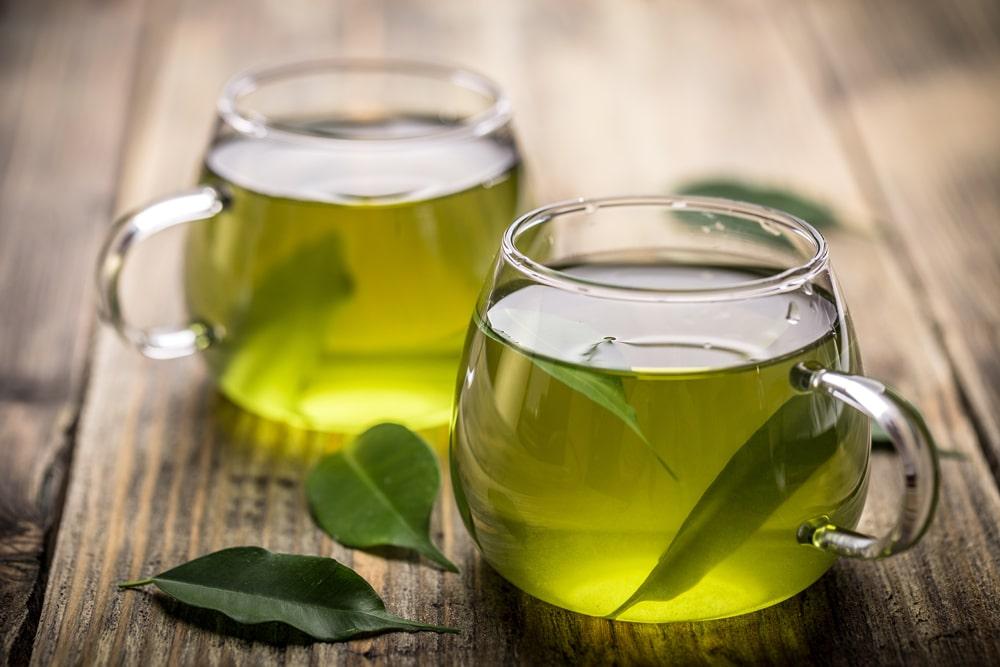 Groene thee bied vele voordelen en bevat EGCG