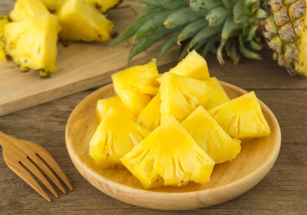 Ananas kan tegen floaters beschermen
