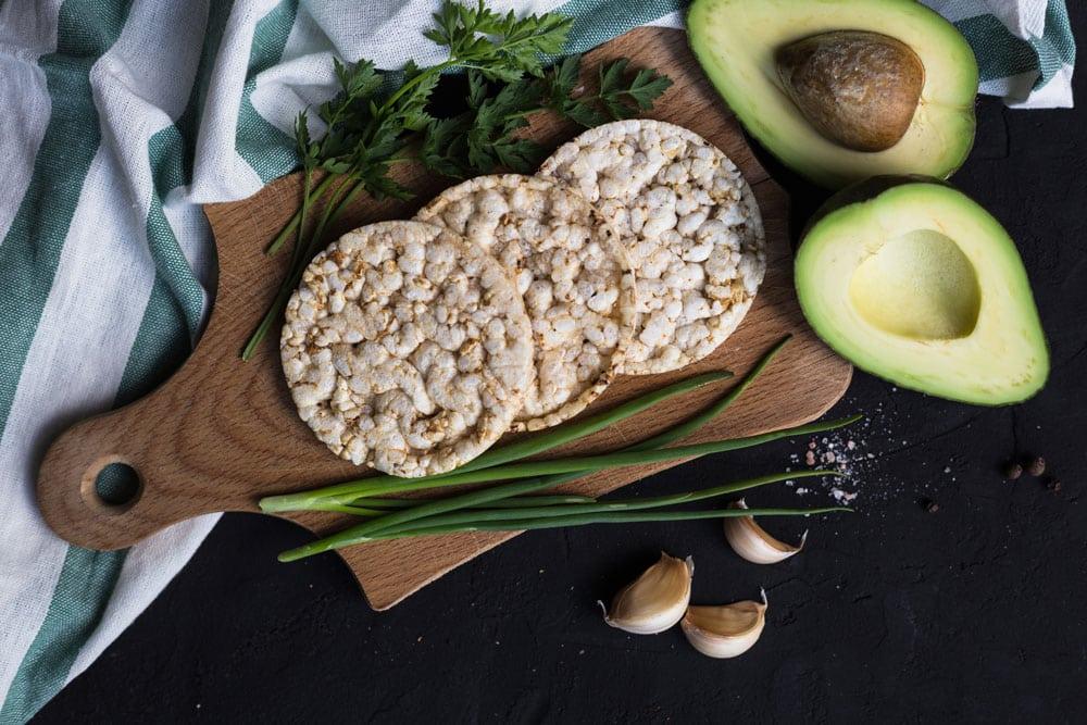 Glutenvrije gezonde snack