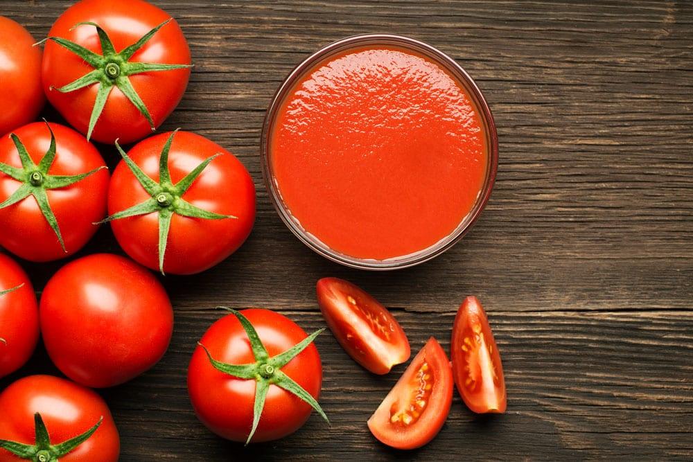 Tomatensap tegen hoge bloeddruk