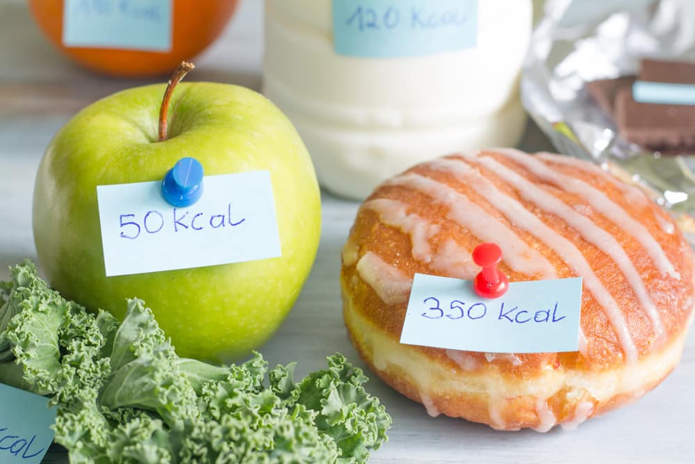 Beetje minder calorieën om gezonder te worden