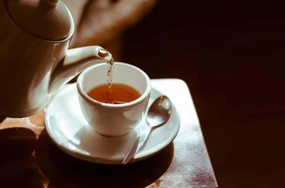 Onstekingsremmende thee