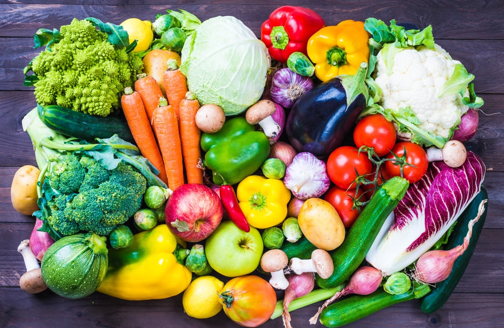 Groenten en fruit zijn rijk aan polyfenolen