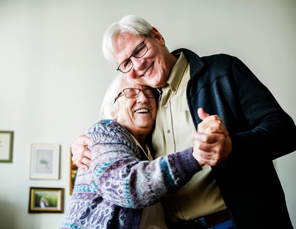 positieve gedachten maken gezond oud